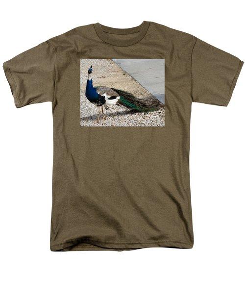 Color Me Royal Men's T-Shirt  (Regular Fit) by Audrey Van Tassell