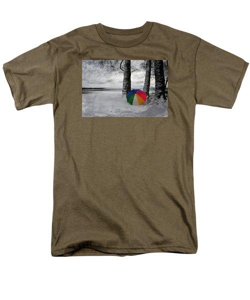 Color To The Melancholy Men's T-Shirt  (Regular Fit) by Randi Grace Nilsberg