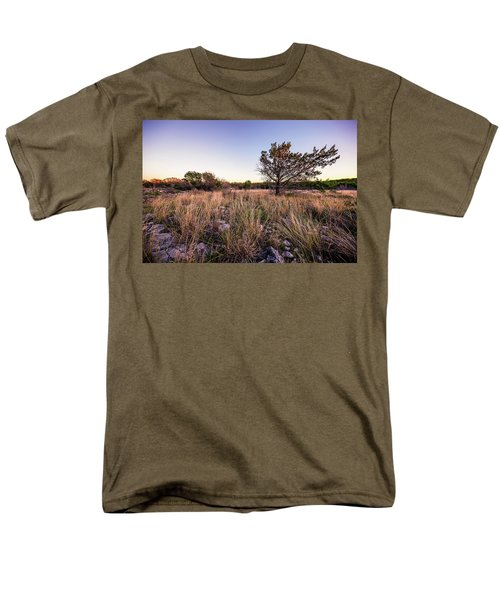 Colorado Bend State Park Gorman Falls Trail #2 Men's T-Shirt  (Regular Fit) by Micah Goff