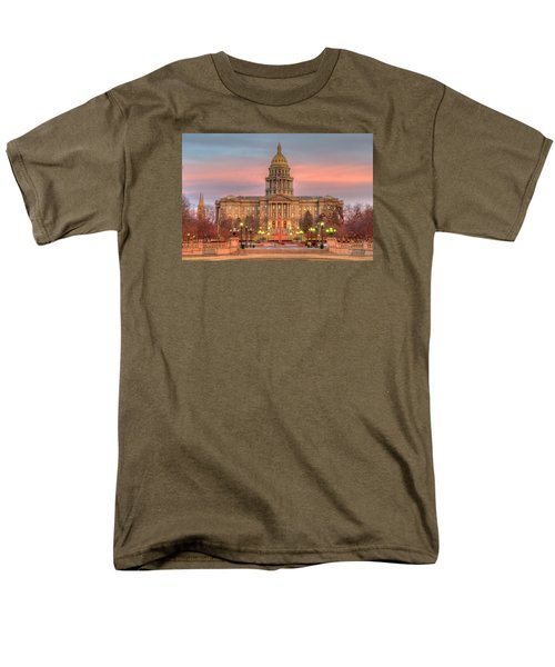 Men's T-Shirt  (Regular Fit) featuring the photograph Colorado Capital by Gary Lengyel