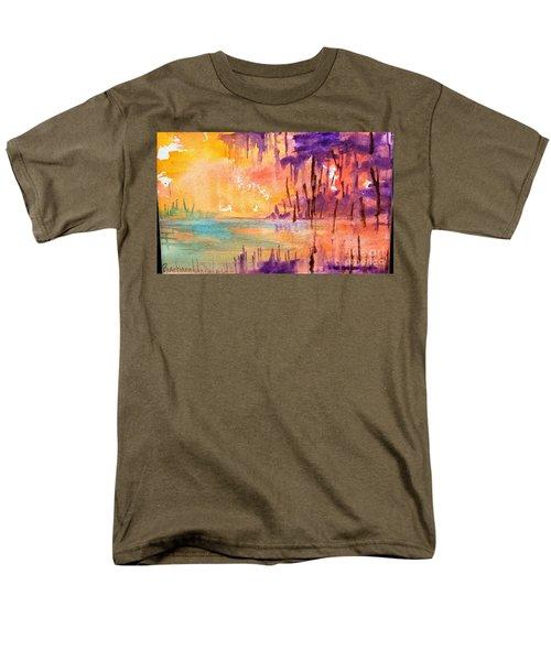 Colorful Bayou Men's T-Shirt  (Regular Fit)