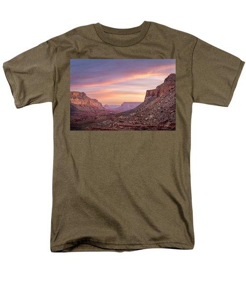 Colorful Havasupai Hike Men's T-Shirt  (Regular Fit) by Serge Skiba