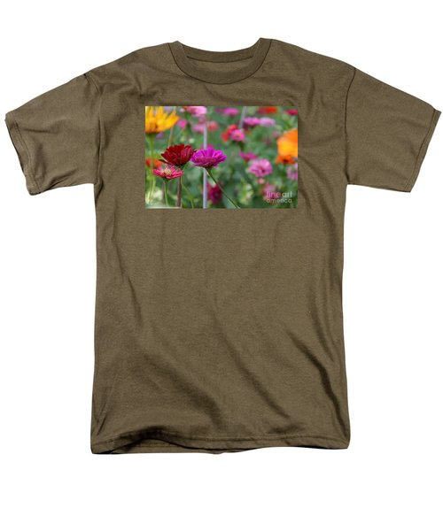 Men's T-Shirt  (Regular Fit) featuring the photograph Colorful Summer by Yumi Johnson