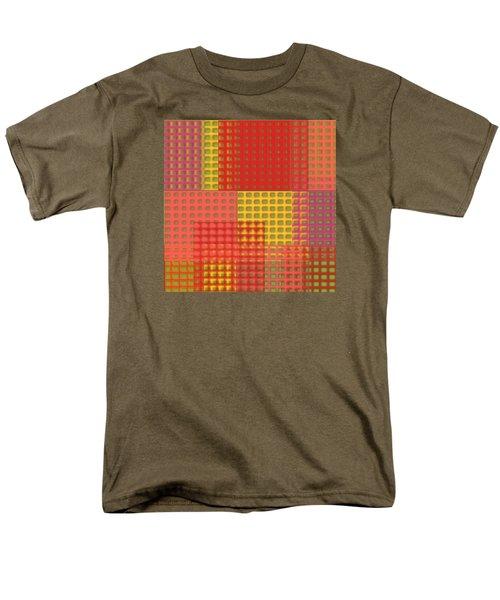 Colorful Weave Men's T-Shirt  (Regular Fit) by Bonnie Bruno