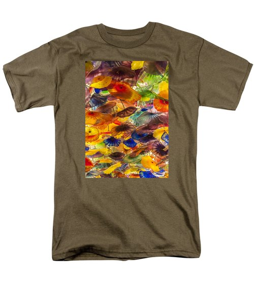 Men's T-Shirt  (Regular Fit) featuring the photograph Colors by Tyson and Kathy Smith