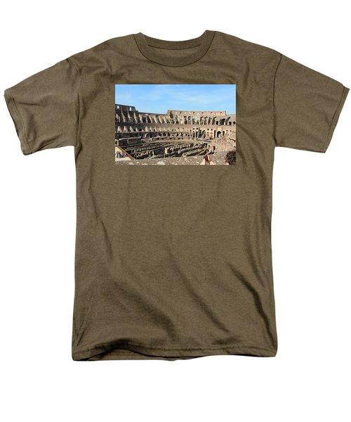 Colosseum Inside Men's T-Shirt  (Regular Fit) by Kaitlin McQueen