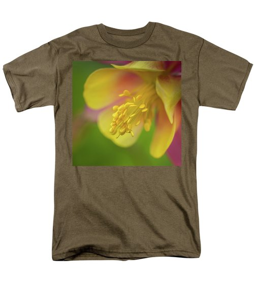Columbine Men's T-Shirt  (Regular Fit) by Greg Nyquist