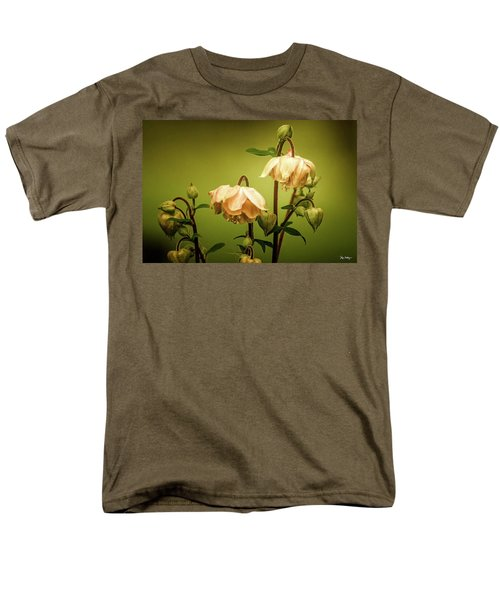 Columbines In Summer Men's T-Shirt  (Regular Fit) by Skip Tribby