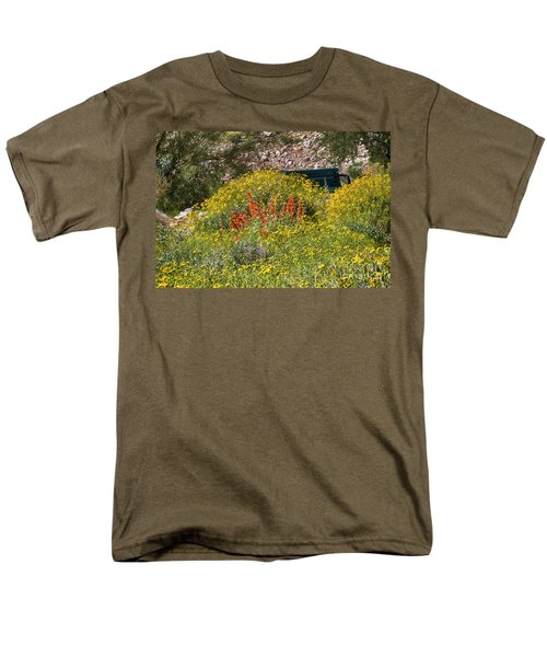 Come Sit Awhile Men's T-Shirt  (Regular Fit) by Anne Rodkin