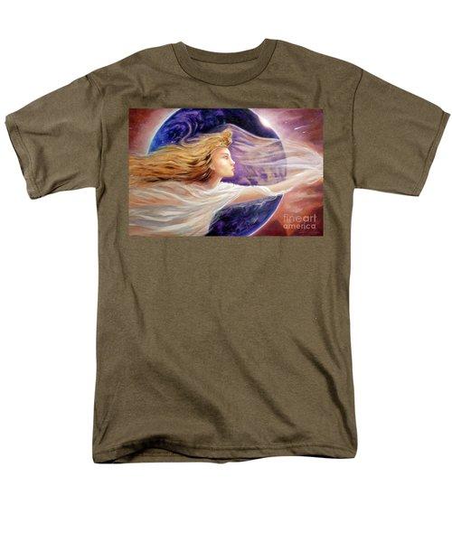 Comet Dreamer Voyage  Men's T-Shirt  (Regular Fit) by Michael Rock