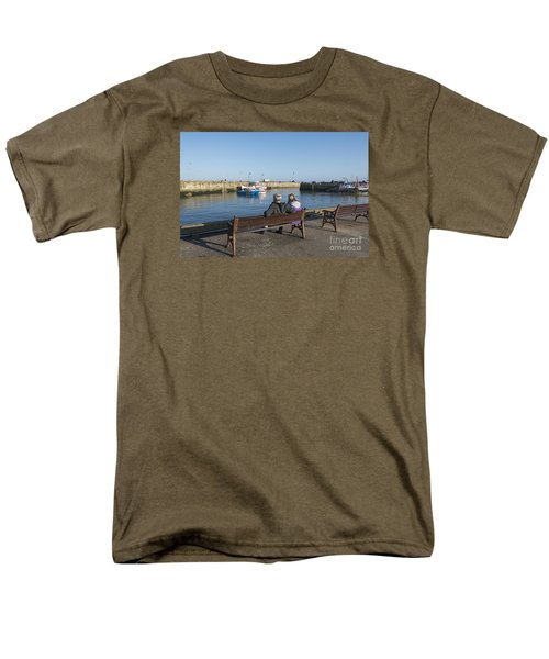 Comings And Goings Men's T-Shirt  (Regular Fit) by David  Hollingworth