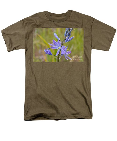 Men's T-Shirt  (Regular Fit) featuring the photograph Common Camas by Sean Griffin