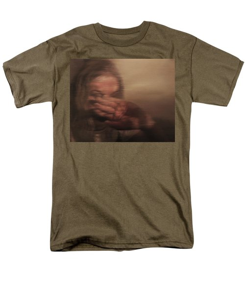 Men's T-Shirt  (Regular Fit) featuring the painting Concealed by Cherise Foster