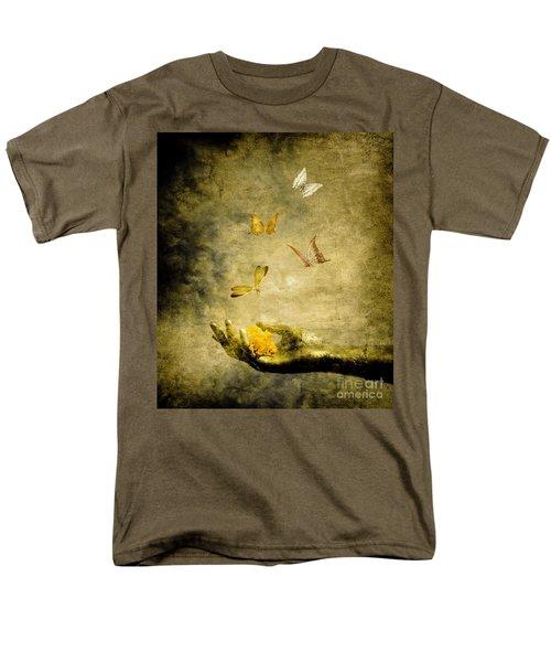 Connect Men's T-Shirt  (Regular Fit) by Jacky Gerritsen