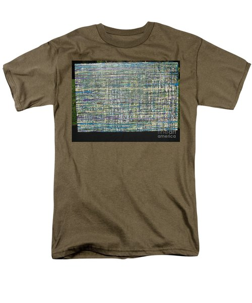 Men's T-Shirt  (Regular Fit) featuring the painting Convoluted by Jacqueline Athmann