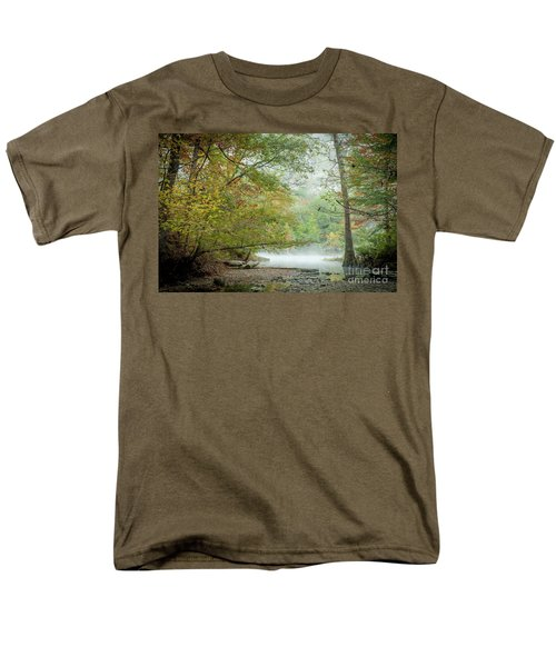 Cool Morning Men's T-Shirt  (Regular Fit) by Iris Greenwell