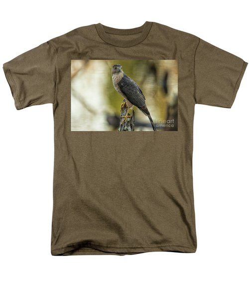 Cooper's Hawk Men's T-Shirt  (Regular Fit) by Geraldine DeBoer