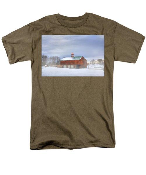 Men's T-Shirt  (Regular Fit) featuring the digital art Copper Cupola by Sharon Batdorf