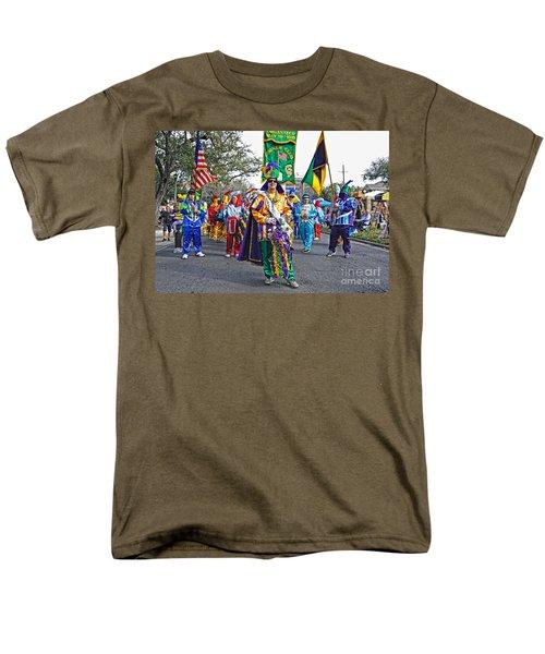 Corner Club 3 -mardi Gras New Orleans Men's T-Shirt  (Regular Fit) by Kathleen K Parker