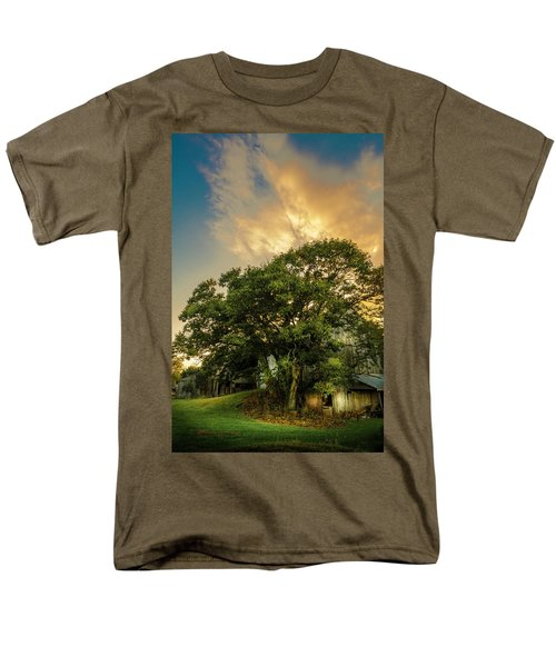 Men's T-Shirt  (Regular Fit) featuring the photograph Corner Oak by Marvin Spates