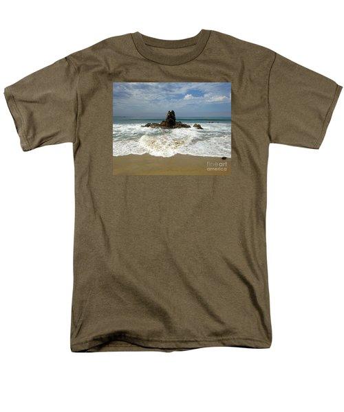 Men's T-Shirt  (Regular Fit) featuring the photograph Corona Del Mar 4 by Cheryl Del Toro