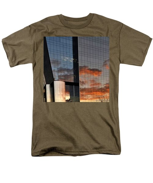 #corporative #architecture At Dusk Men's T-Shirt  (Regular Fit) by Carlos Alkmin