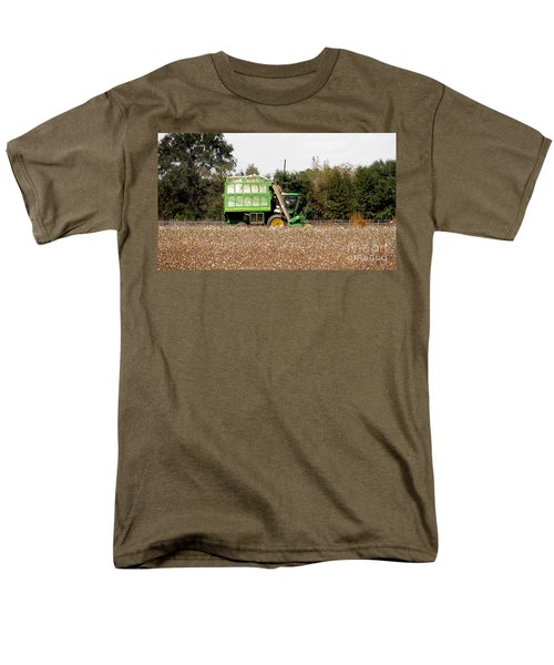 Cotton Picker Men's T-Shirt  (Regular Fit) by Donna Brown