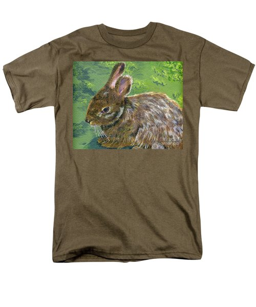 Cottontail Men's T-Shirt  (Regular Fit) by Lynne Reichhart