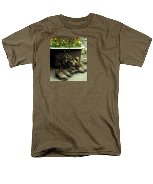 Men's T-Shirt  (Regular Fit) featuring the photograph Country Day Spa by Kandy Hurley