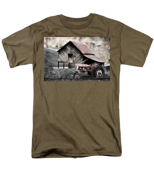 Country Men's T-Shirt  (Regular Fit) by Gray  Artus