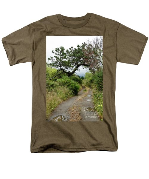 Country Road. New Zealand Men's T-Shirt  (Regular Fit) by Yurix Sardinelly