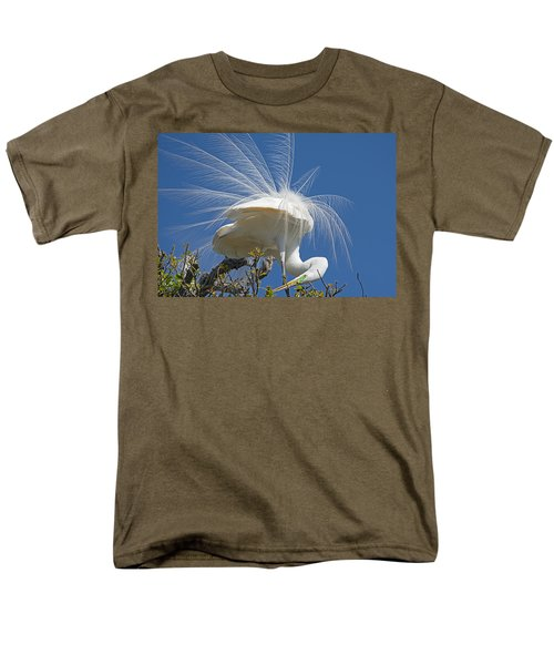 Courting Display Men's T-Shirt  (Regular Fit) by Kenneth Albin