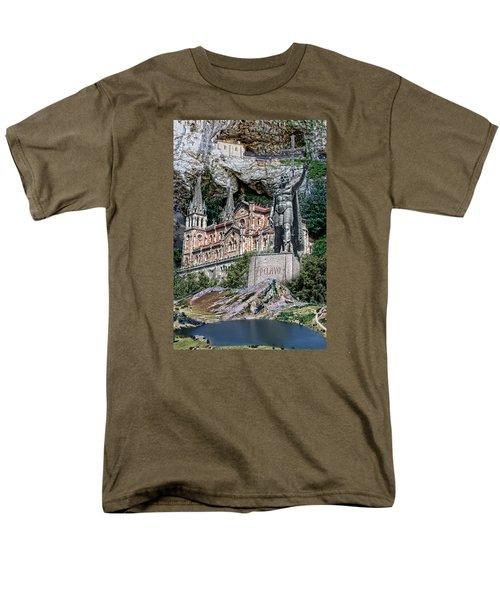 Men's T-Shirt  (Regular Fit) featuring the photograph Covadonga by Angel Jesus De la Fuente