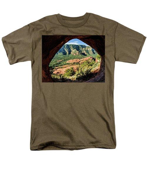 Cowpie 07-031p Men's T-Shirt  (Regular Fit) by Scott McAllister