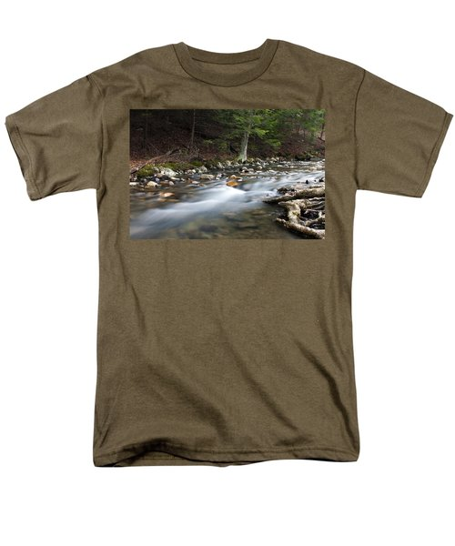 Men's T-Shirt  (Regular Fit) featuring the photograph Coxing Kill In February #1 by Jeff Severson