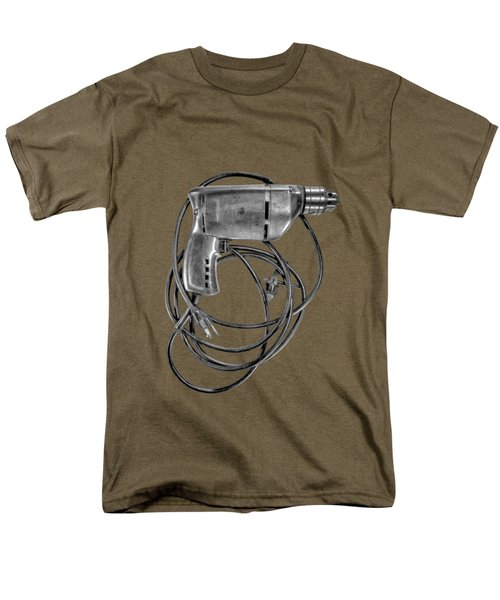 Craftsman Drill Motor Bs Bw Men's T-Shirt  (Regular Fit) by YoPedro