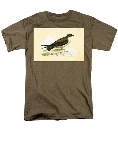 Crag Swallow Men's T-Shirt  (Regular Fit) by English School