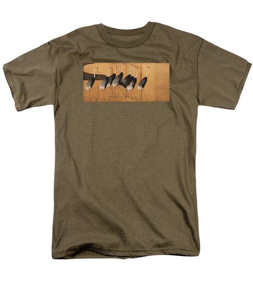 Cranes Men's T-Shirt  (Regular Fit) by Ogata Korin