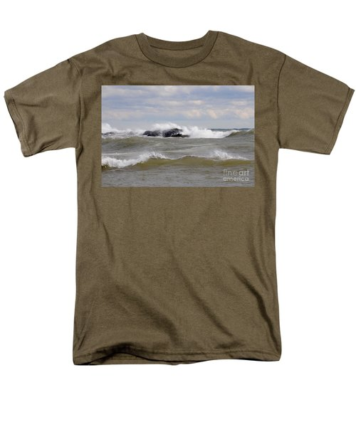 Crashing The Reef Men's T-Shirt  (Regular Fit) by Sandra Updyke