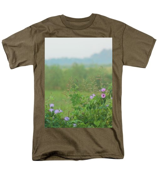 Men's T-Shirt  (Regular Fit) featuring the photograph Crawfish And Rice Fields Of Dreams by John Glass