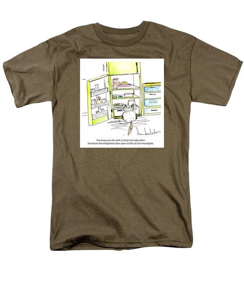Crazy Cat Lady 0003 Men's T-Shirt  (Regular Fit)