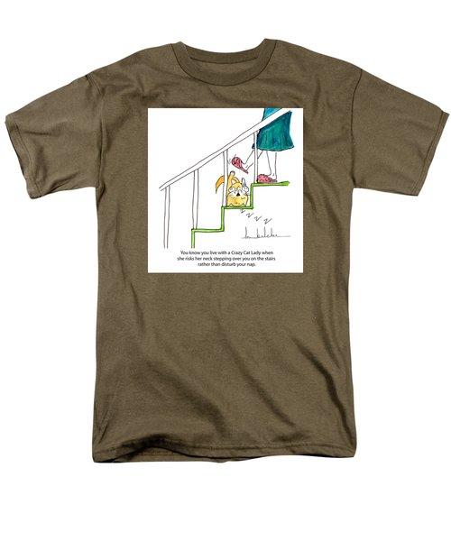 Crazy Cat Lady 0006 Men's T-Shirt  (Regular Fit)