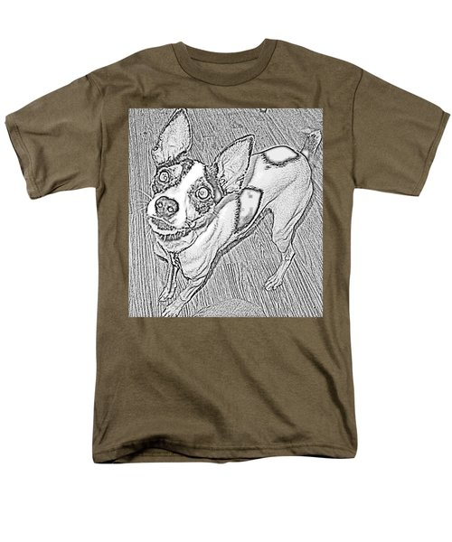 Crazy Frida Men's T-Shirt  (Regular Fit)