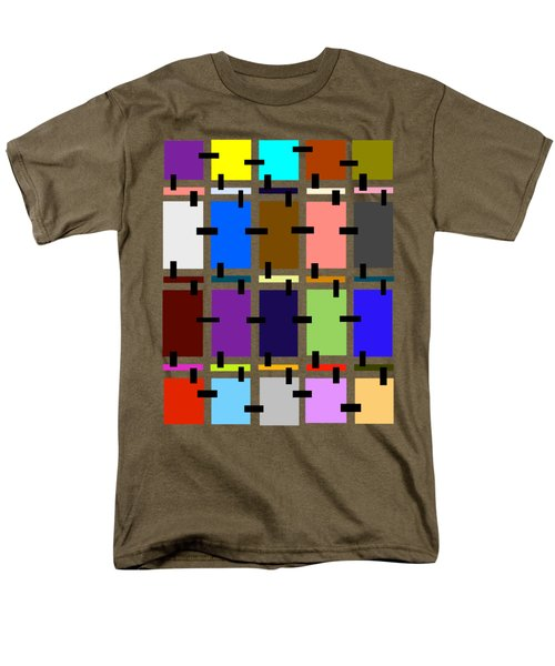 Crazy Quilt Men's T-Shirt  (Regular Fit) by Cathy Harper