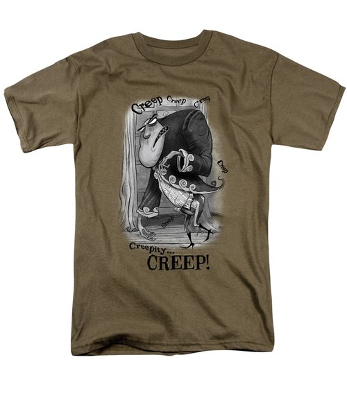 Creepy Men's T-Shirt  (Regular Fit) by Andy Catling