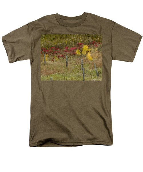 Crimson And Gold Men's T-Shirt  (Regular Fit) by Tara Lynn