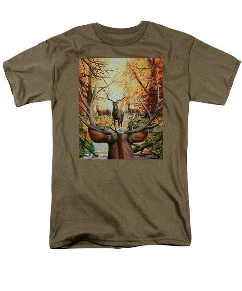 Crossing Paths Men's T-Shirt  (Regular Fit) by Ruanna Sion Shadd a'Dann'l Yoder
