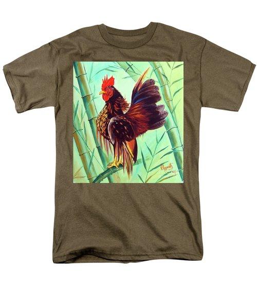 Crown Of The Serama Chicken Men's T-Shirt  (Regular Fit) by Ragunath Venkatraman
