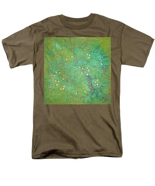 Cruciferous Flower Men's T-Shirt  (Regular Fit) by Bernard Goodman