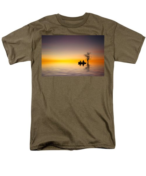 Men's T-Shirt  (Regular Fit) featuring the pyrography Cruise by Bess Hamiti